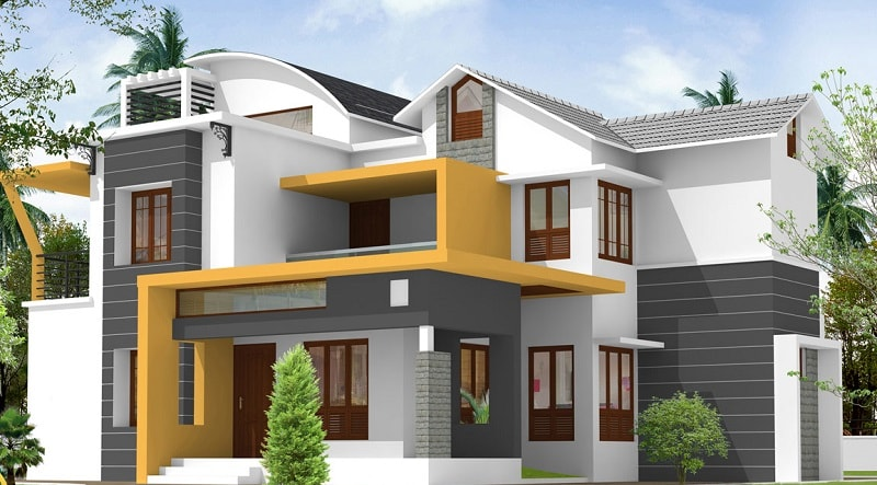 exteriors on indian home design modern exterior and exterior home