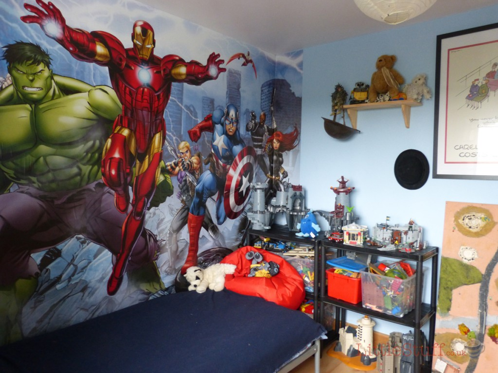 avengers themed room by Yes Painter