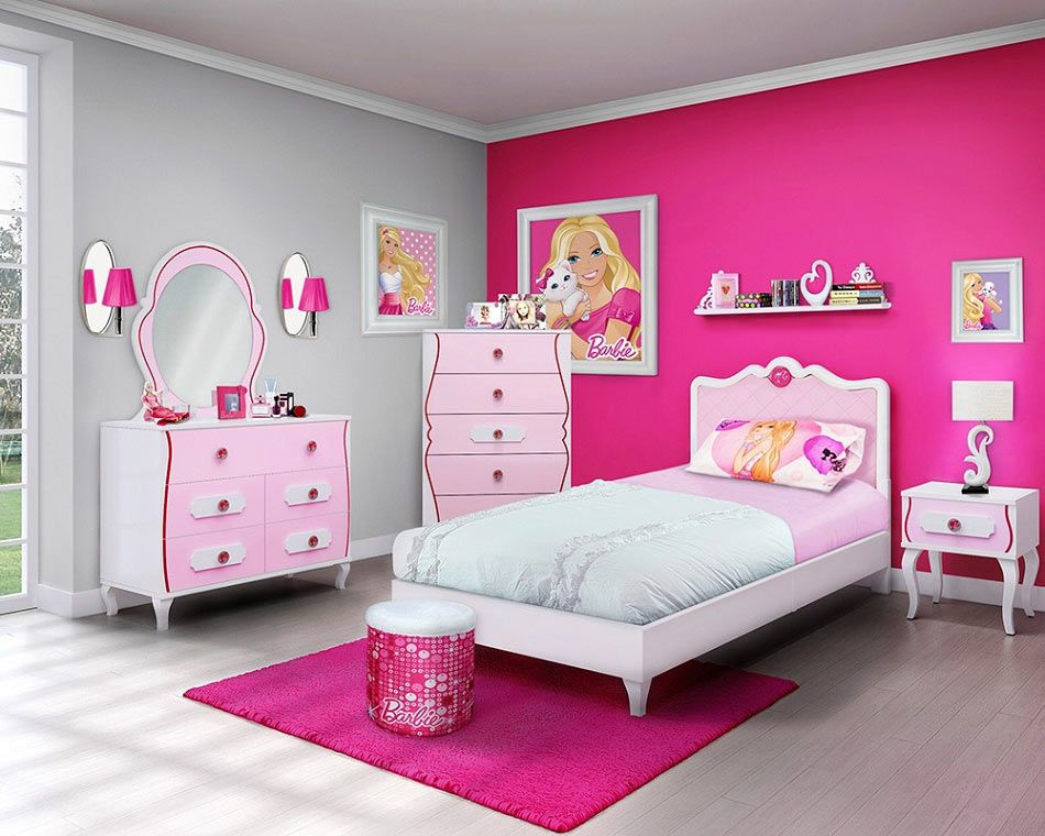 barbie themed room by Yes Painter