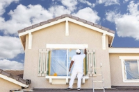 exterior painting service weather and time